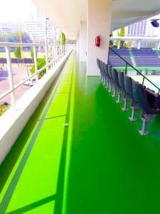 Epoxy Lantai PPKGBK Senayan Tennis Court 225x300 - Epoxy Lantai PPKGBK Senayan Tennis Court