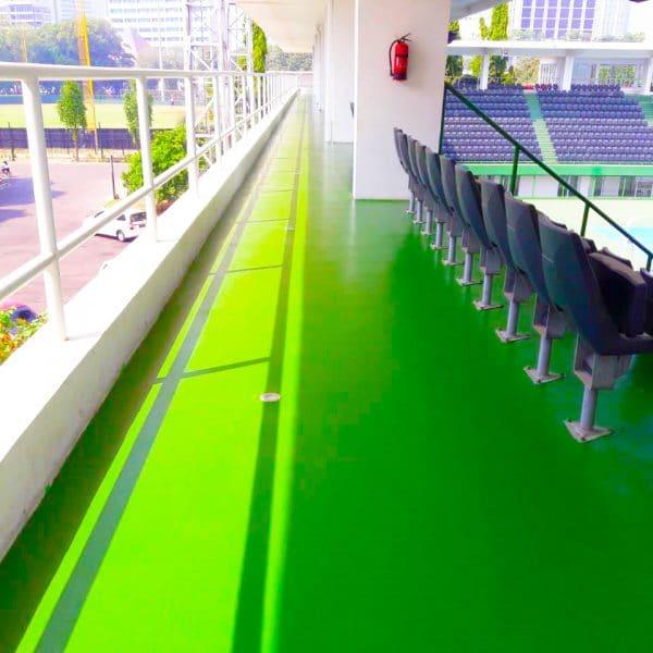 Epoxy Lantai PPKGBK Senayan Tennis Court 600x600 - PPKGBK Senayan Tennis Court
